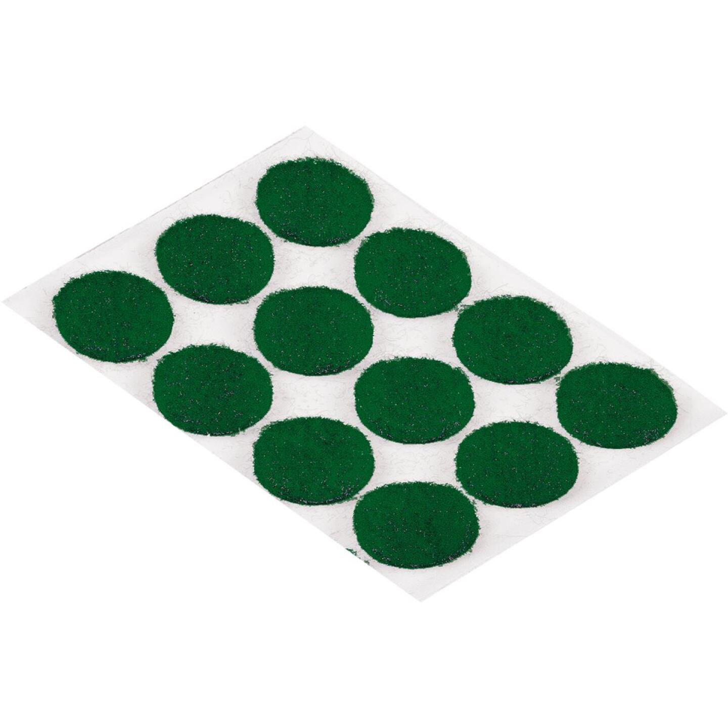 Do it 3/8 In. Green Self Adhesive Felt Pads,(28-Count) Image 1