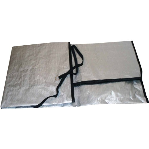 """Do it 34""""x 34""""x 30"""" 9 mil Square Air Conditioner Cover"""