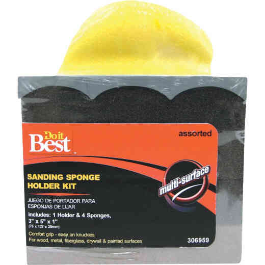 Do it Best Fine, Medium, Coarse Drywall Sponge