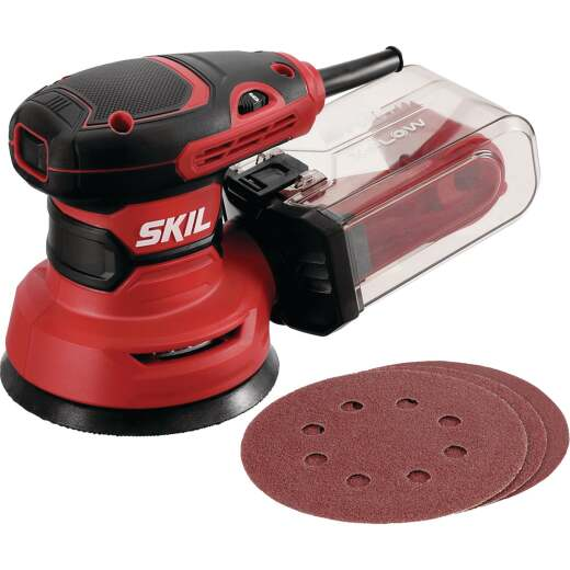 SKIL 5 In. 2.8A Random Orbit Sander