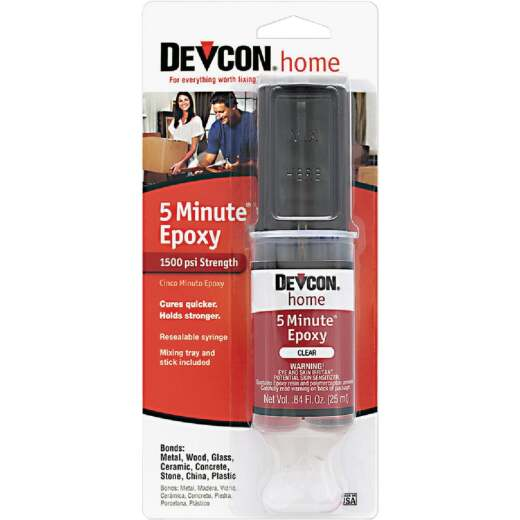 Devcon 1 Oz. 5 Minute Epoxy Syringe