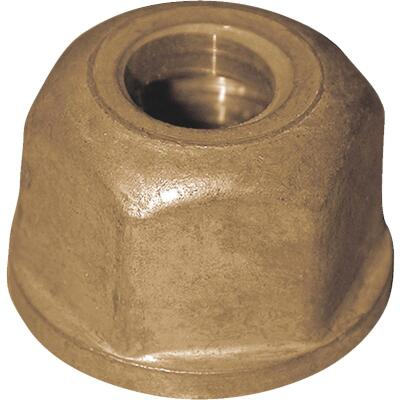 Jones Stephens 1-1/16 x 9/16 In. Brass Basin Coupling Nut