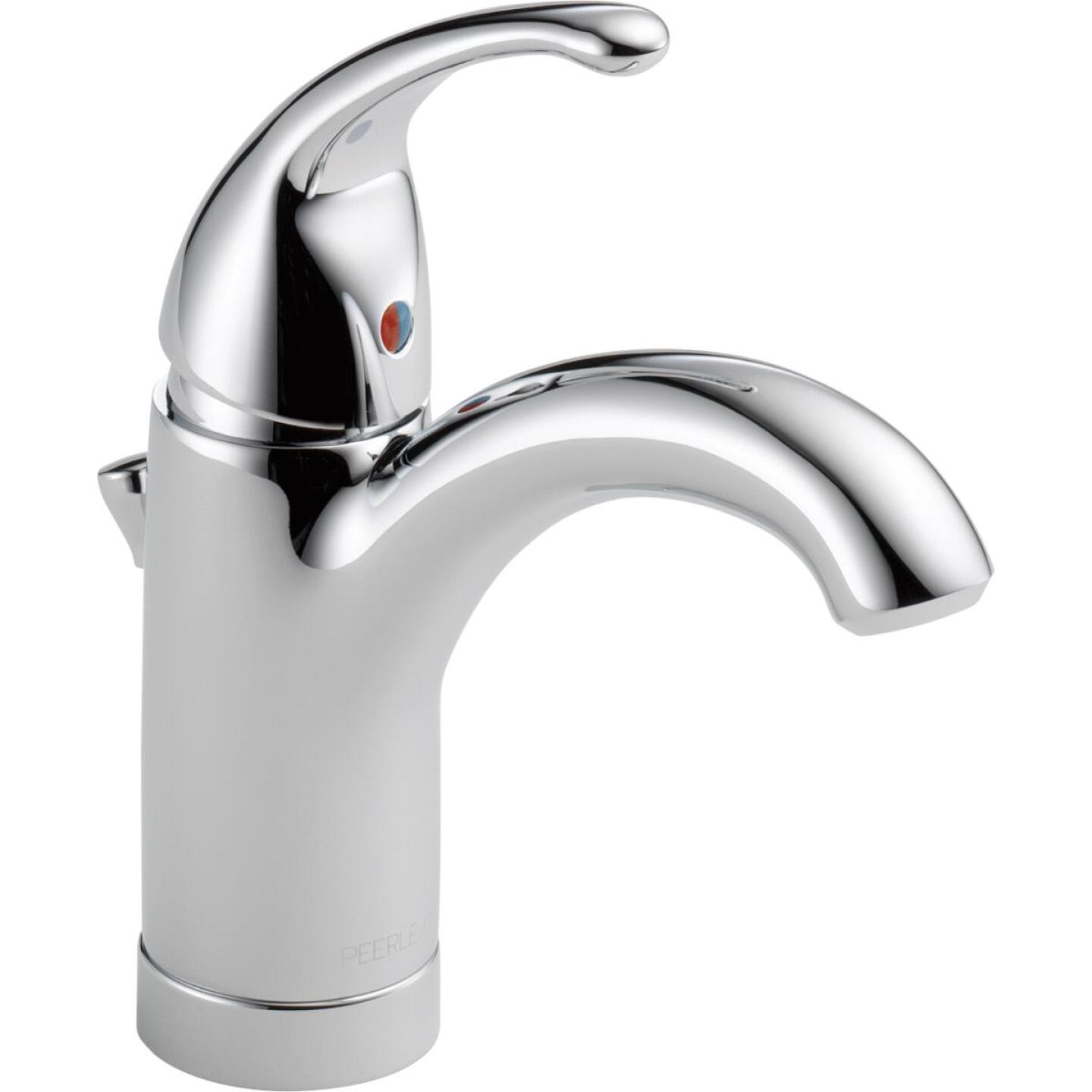 Peerless Apex Chrome 1-Handle Lever 4 In. Centerset Bathroom Faucet with Pop-Up Image 1