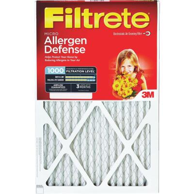 3M Filtrete 16 In. x 16 In. x 1 In. Allergen Defense 1000/1085 MPR Furnace Filter