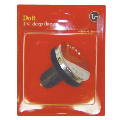 Do it Toe-Touch 3/8 In. Thread Tub Drain Stopper Cartridge in Polished Chrome