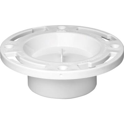 Oatey 3 In. Schedule 40 DWV Level-Fit PVC Closet Flange