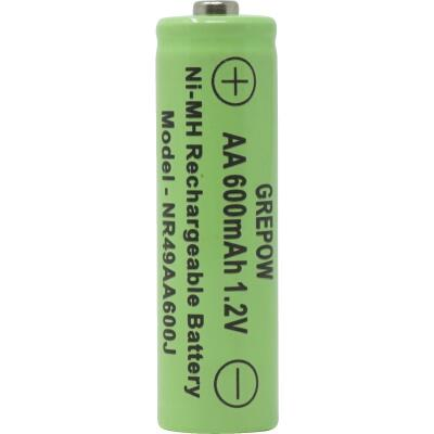 Moonrays Solar Rechargable AA Replacement Battery (4-Pack)