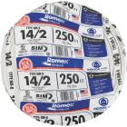 Romex 250 Ft. 14-2 Solid White NMW/G Wire Image 2
