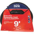 Do it Best 9 Ft. 14/3 In-Line Multi Outlet Extension Cord Image 1