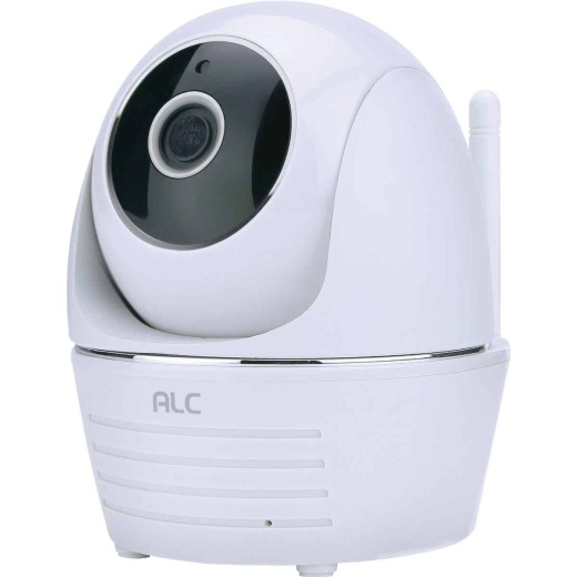 ALC Wireless SightHD Indoor White Pan-Tilt Security Camera