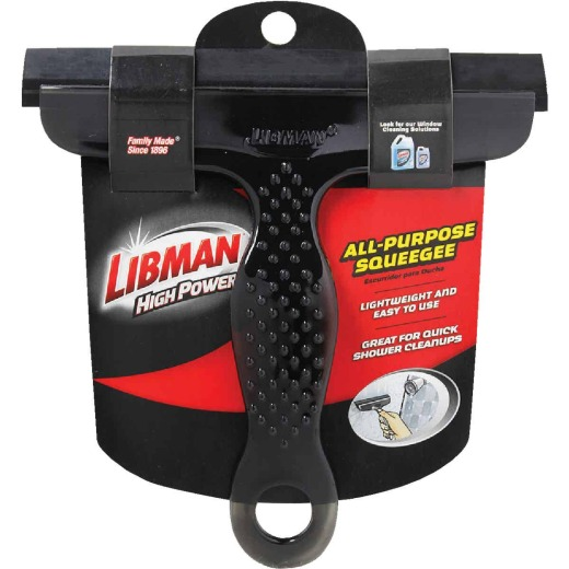 Libman High Power 6.5 In. Rubber Squeegee