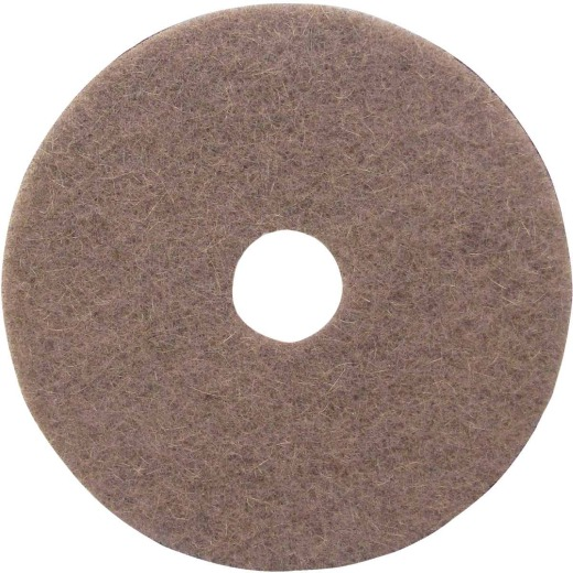 Lundmark 17 In. Natural Hair & Synthetic Fiber Buffing Pad