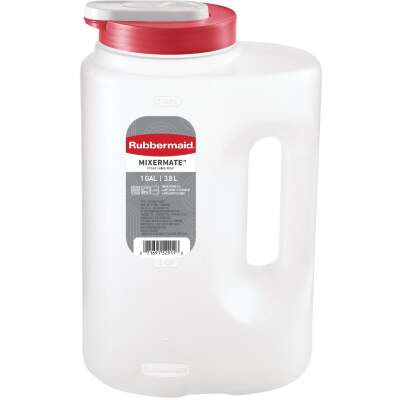 Rubbermaid Seal 'n Saver 1 Gal. Storage Bottle Pitcher