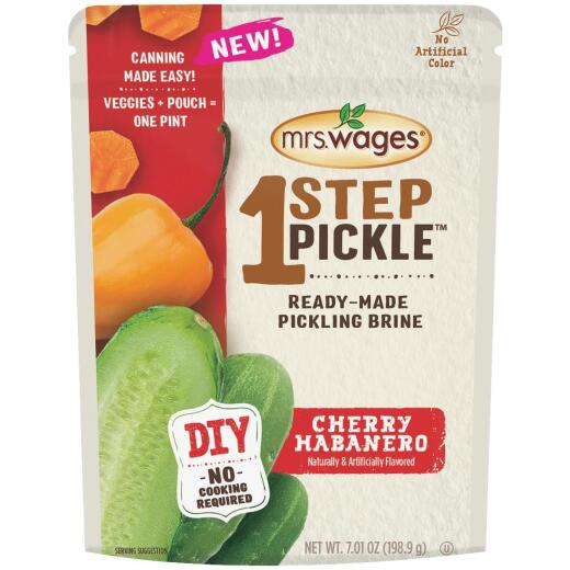 Mrs. Wages One Step Pickle Cherry Habanero Dill Pickling Mix