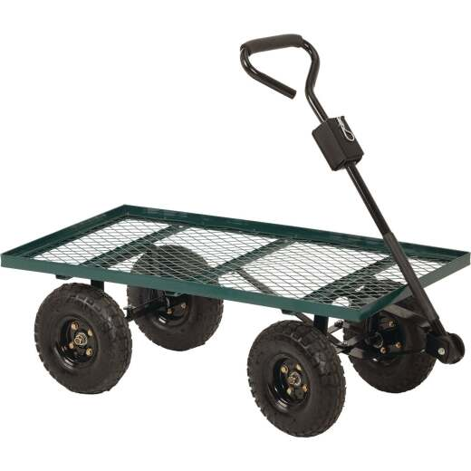 Best Garden 500 Lb. Steel Garden Cart