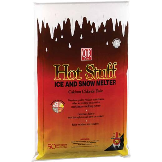 Qik Joe Hot Stuff 50 Lb. Ice Melt Flakes