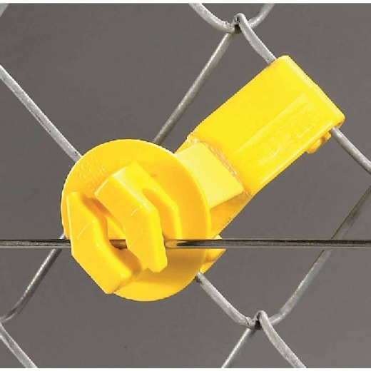 Dare Snap-On Yellow Polyethylene U-Post Electric Fence Insulator (25-Pack)