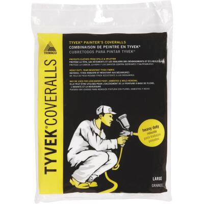 Trimaco Tyvek Large Reusable Painter's Coveralls