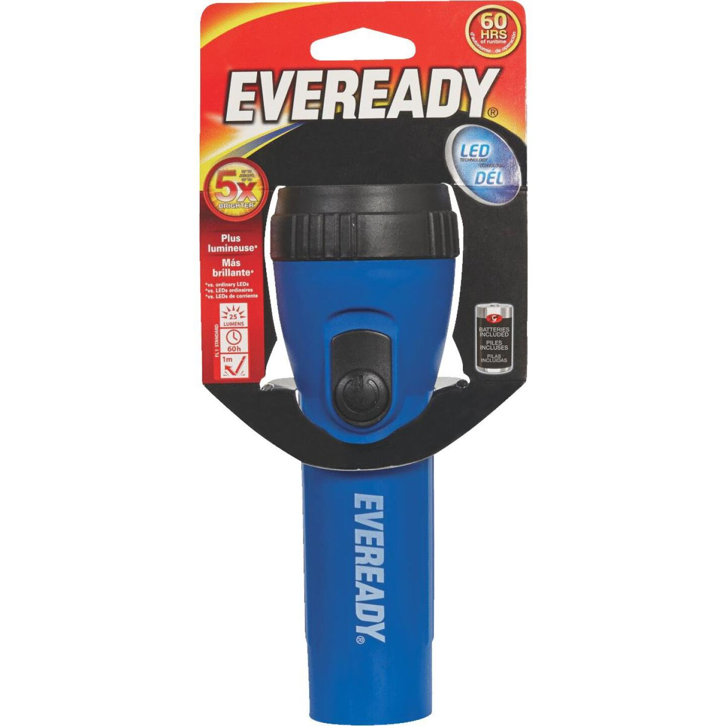 Eveready LED Red Economy Flashlight Image 1