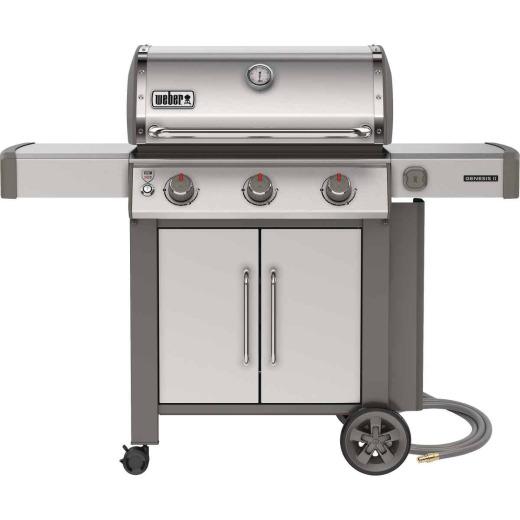 Weber Genesis II S-315 3-Burner Stainless Steel 39,000 BTU Natural Gas Grill