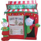 Southern Joy 6 Ft. Santa Cookie Shop Airblown Inflatable Image 1